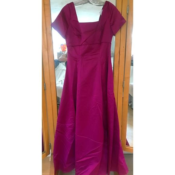 Alfred Angelo Dresses Cranberry Bridesmaid Dress Poshmark